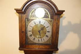 Grandmother Clock Grandmother Clock Oak Case 8 Day Westminster Chime Mechanical