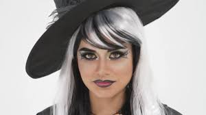 halloween webbed witch eyes makeup tutorial with bh cosmetics