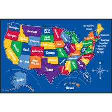 Map For United States by United States Rug Roselawnlutheran
