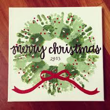 handprint u0026 footprint christmas wreath craft i did with the kids i