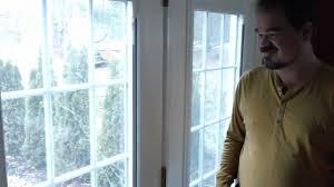 exterior door with blinds between glass blinds between glass youtube