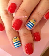 marine nails nail art gallery