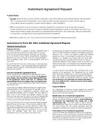installment agreement form 10 free templates in pdf word excel