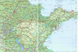 Map Of China Provinces Shangdong Maps Map Of Shandong Shandong Province Map China