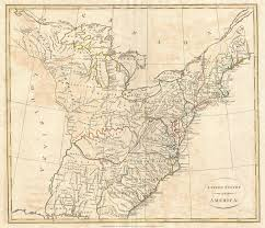 A Map Of America by File 1799 Cruttwell Map Of The United States Of America