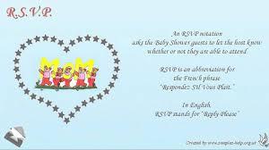 English Invitation Card Baby Shower Invitation Wording Youtube