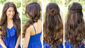 cute hairstyles for long hair for a dance best haircut style