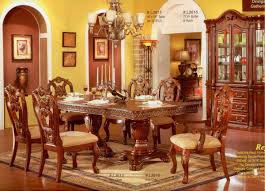 cherry finish classic formal dining room table w optional items