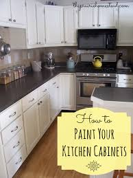 How To Paint Your Kitchen Cabinets  The Prairie Homestead - Can you paint your kitchen cabinets