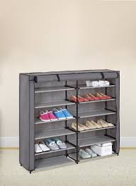 Shoe Storage Furniture by 7 Tier Shoe Rack 42 Pair Portable Shoe Storage Cabinet Organizer