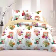 arista 2 cotton bed linen set duvet cover u0026 pillow cases