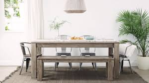 dining room neat reclaimed wood dining table pottery barn dining
