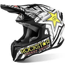 motocross dirt bikes airoh new mx 2017 twist rockstar matte black white motocross dirt