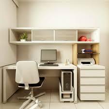 designing a small home office minimalist desk design ideas