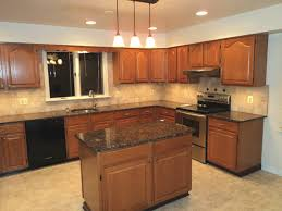 White Kitchen Cabinets With Black Granite Countertops by Granite Countertop Granite Colors For White Kitchen Cabinets Oak