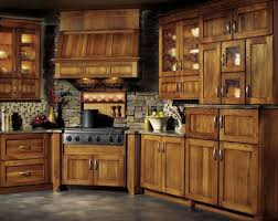 Fancy Kitchen Cabinets by Kitchen Luxurious Kitchens With Hickory Cabinets 94 Regarding