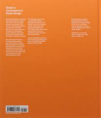 amazon com detail in contemporary retail design 9781856697415