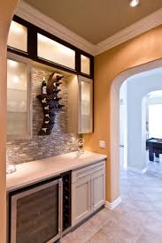 Glass Kitchen Backsplash Kitchen Elegant Ideas For Wine Themed Kitchen Decoration Using