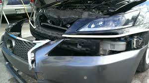 lexus hs 250h bumper mating a gs350 f sport front bumper to the 2is step by step