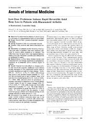 It Example Resume by Low Dose Prednisone Induces Rapid Reversible Axial Bone Loss In