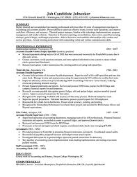 Ms Word Sample Resume by Download Account Payable Clerk Sample Resume