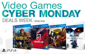 ps4 console amazon black friday playstation 4 and xbox one games cyber monday deals for u s