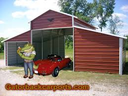 Carport Styles by Metal Garages Harrodsburg Ky Kentucky Carports Gatorback Carports