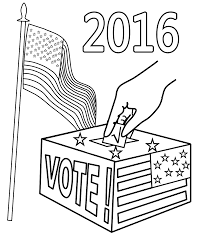election day coloring pages getcoloringpages com