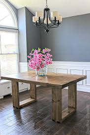 How To Decorate Your Dining Room Table Best 25 Diy Dining Table Ideas On Pinterest Diy Table