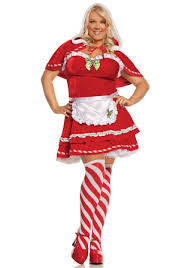 plus miss candy cane costume halloween costumes