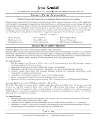 Financial Resume Sample by Construction Manager Resume Page 1 Resume Writing Tips For All