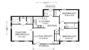 simple bedroom house plans simple bedroom bath house plan house