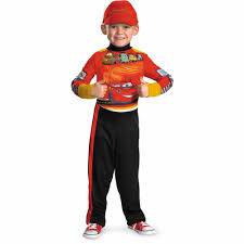 kids halloween costumes usa lightning mcqueen child halloween costume walmart com