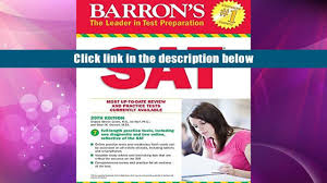 100 barrons sat guide how i self studied for the sat and