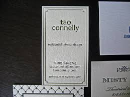 residential interior design letterpress business card flickr