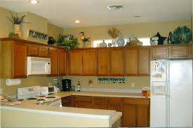 Parts Of Kitchen Cabinets Kitchen Units Cabinet Decor Enchanting Above Cabinet Decorating
