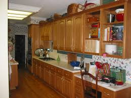 Kitchen Oak Cabinets by Image Of Kitchen Dark Wood Floor Oak Cabinets Most Widely Used