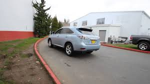 used lexus rx 350 washington state 2010 lexus rx 350 navigation cerulean blue metallic ac029275