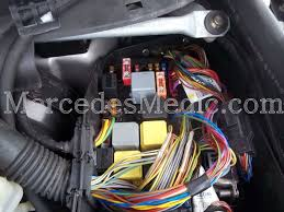 S Cl Class W220 Fuses And Relays Location Designation 2000 2006