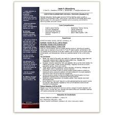 Ms Word Sample Resume by Ms Resume Templates Teacher Resume Template Microsoft Complete