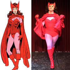 scarlet witch costume comics new york comic con look scarlet witch realness ccw drag