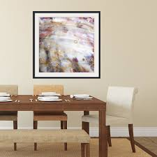 abstract framed wall art square 4 v2 rustic artwork modern