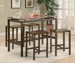 Kitchen Table Bar Style Dining High Chair Stool Bar Stool Height Tall Dining Table