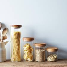 Glass Kitchen Canisters Airtight by 30 Glass Jars For Storing Pantry Essentials Kitchn