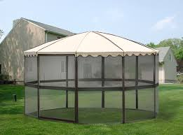 amazon com casita 10 panel round screenhouse model 03165 brown
