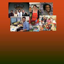 UMBC Honors College students working in Baltimore UMBC