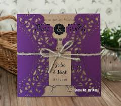 Invitation Card Store Online Buy Wholesale Purple Invitation Cards From China Purple