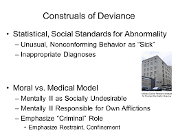 PPPT Supplement Considerations of stigma and stereotyping lead us back to our earlier discussion of the various construals of deviance