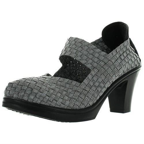 Bernie Mev Bonnie Pumps Shoes,Pewter,39