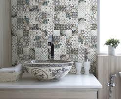 Kitchen Tile Flooring Ideas Patchwork Backsplash For Country Style Kitchen Ideas Homestead
